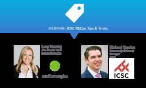 Webinar: ICSC RECon Tips and Tricks