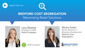 Webinar ~ Cost Segregation & Retail Solutions