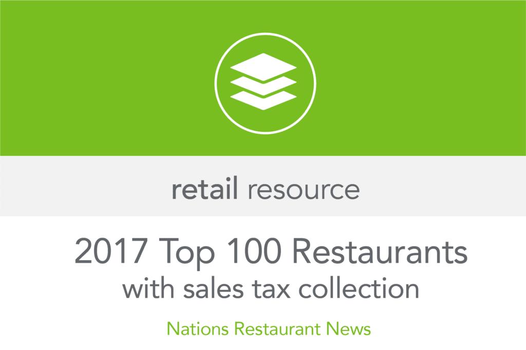 Top 100 Restaurants [2017]