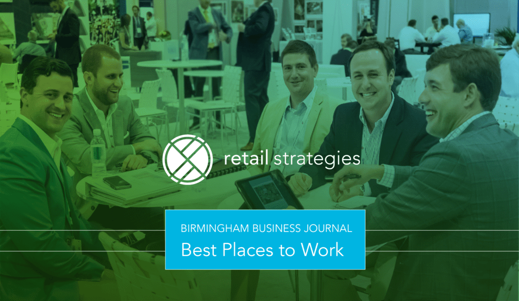 """Retail Strategies named as one of the """"Best Places to Work"""" in Birmingham"""