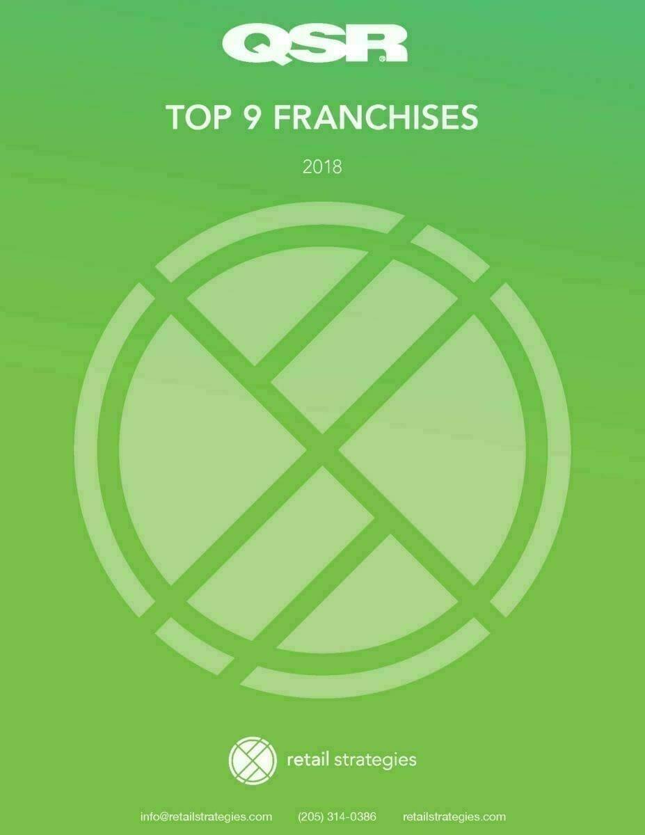 QSR top 9 franchises