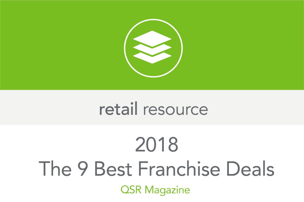 The Best 9 Franchise Deals 2018