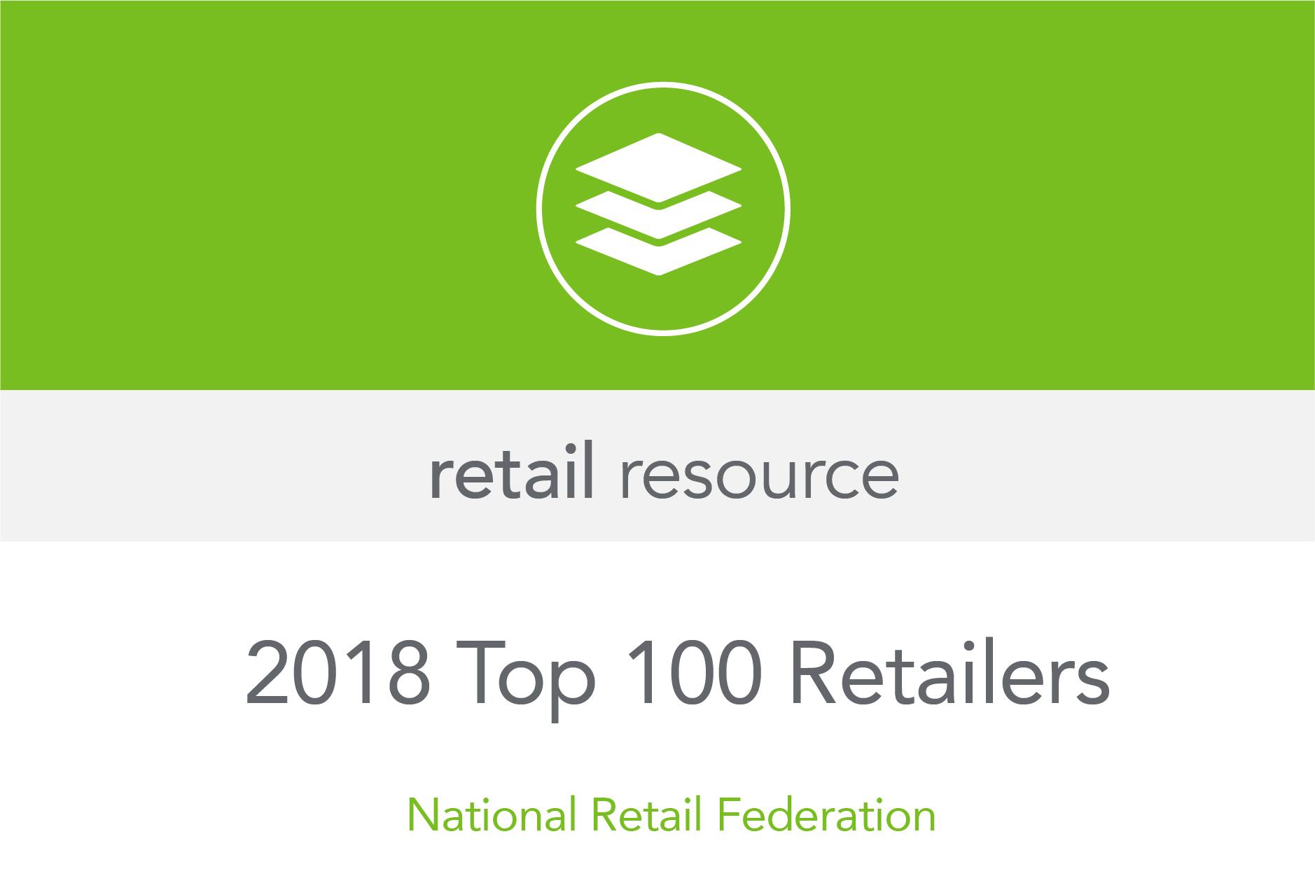 Top 100 Retailers 2018 || Retail Strategies