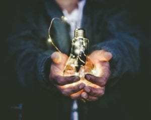 inspiration vision lightbulb